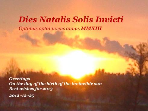 sol invictus 2012