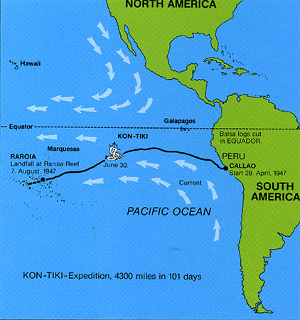 kon-tiki journey