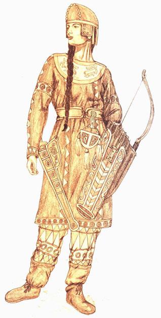 Treasure trove of Sarmatian Women warrior jewellery unearthed in ...