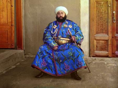 Prokudin-Gorsky 40 Emir of Bukhara
