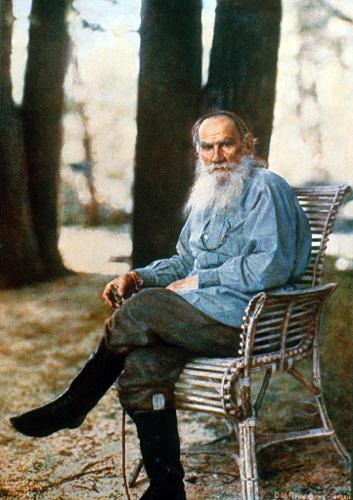 Prokudin-Gorsky L.N.Tolstoy 1908 Wikimedia