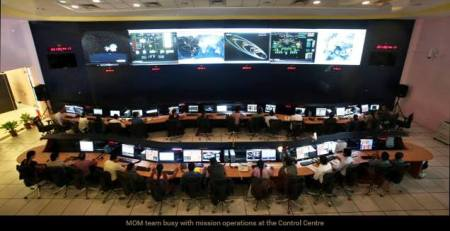 Mission Operations Complex ISTRAC  Bangalore.