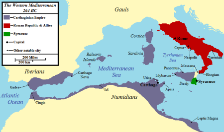 Carthage in 264 BC (Ancient Encyclopedia)
