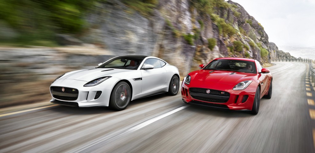 Exceptionnel The All Aluminum F TYPE Coupe Range Will Deliver, In Production Form,