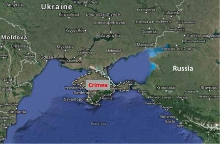 Crimea (Google Maps)