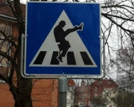 Ministry of Silly Walks - Norway - Ørje. Photo: Kreativiteket