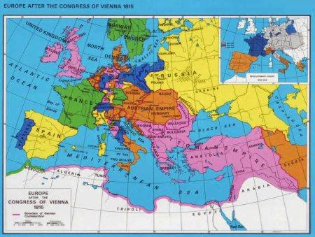 europe after vienna 1815