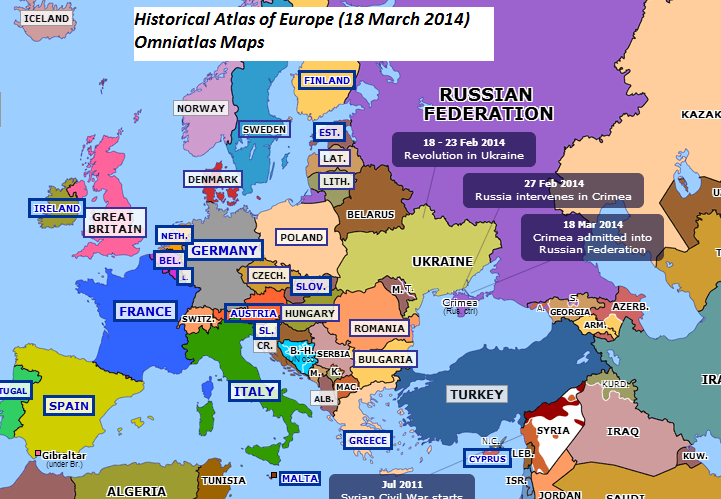 Shifting maps of Europe over 200 years from 1815 2014 The k2p blog