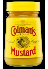 Colman's bulls-head logo