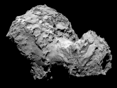 Comet 67P-CG on 3rd August 2014 ESA