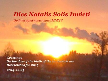 sol invictus 2014