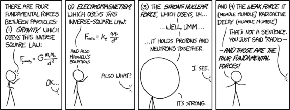 xkcd fundamental forces