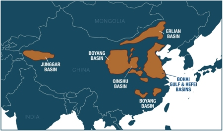 shale basins China (The Diplomat)