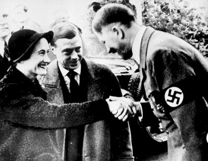 23 October 1937 Edward and Wallace with Hitler