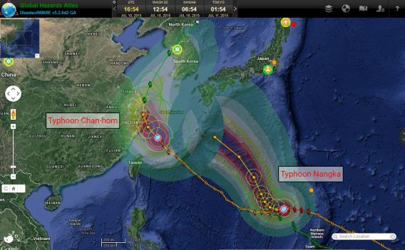 Typhoon Chan-hom July 10th 2015