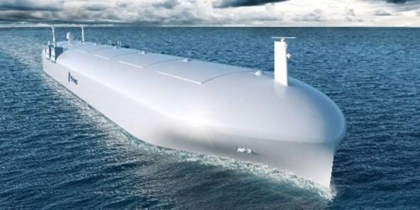 An autonomous tanker -- image rolls royce