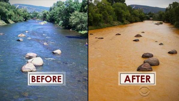 EPA caused pollution  colorado August 2015 - cbs news