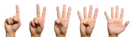 hand of 5