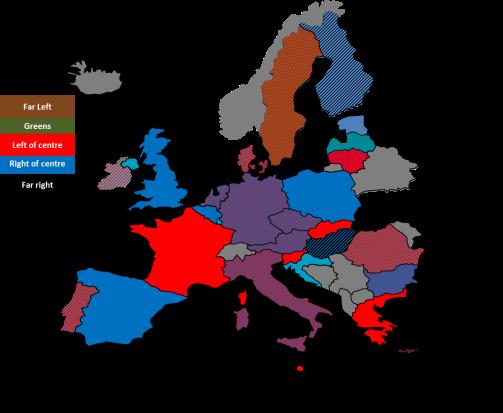 Colours of the EU
