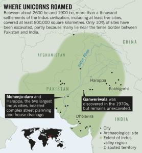 Where Unicorns roamed - graphic by Nature
