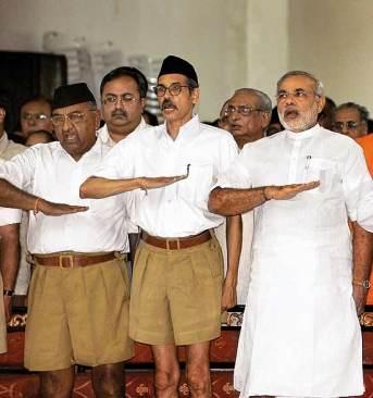 Modi RSS salute