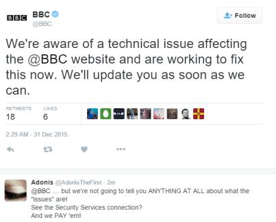 BBC down