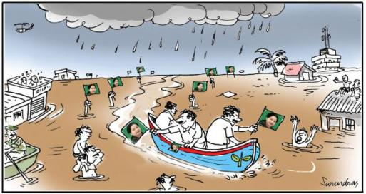 The Hindu cartoon chennai floods 20151208