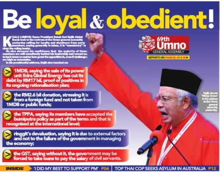 Loyal and Obedient