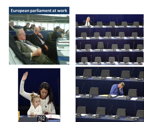 European parliament at work
