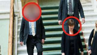 Mona Sahlin and anonymous PB image Expressen