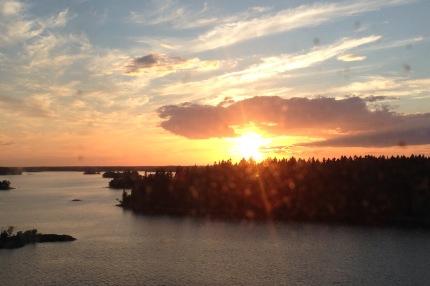 baltic sunset 1