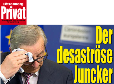 Disastrous Juncker