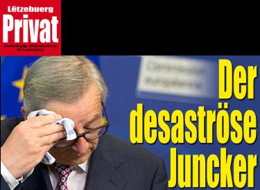 Disastrous Juncker