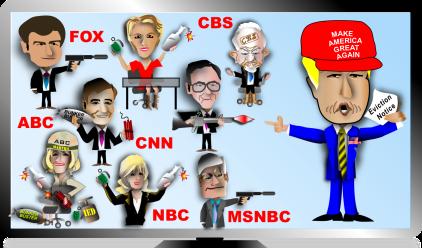 media vs trump