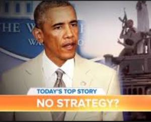 obama no strategy