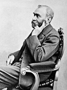 portrait of Alfred Nobel by Gösta Florman