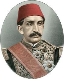Sultan Abdulhamid II (image Brittanica)