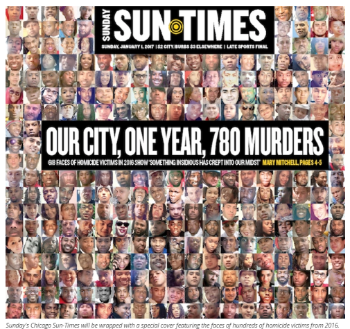 Chicago murders 2016 - Chicago Sun Times