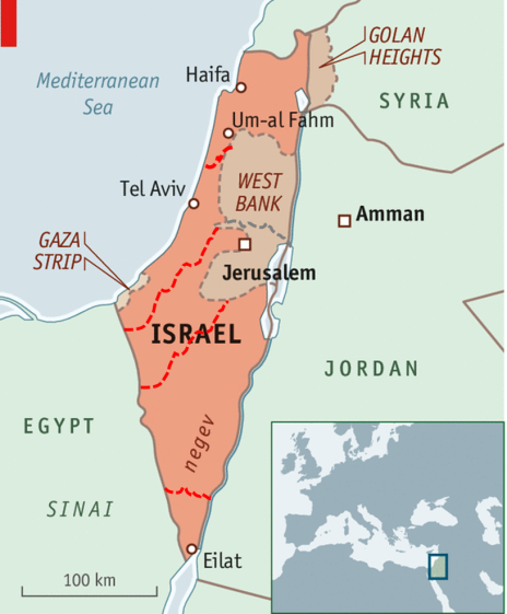 A Federal Israel? with 5 Jewish and 3 Muslim states?