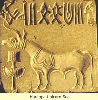 Harappan Unicorn seal