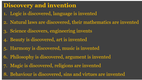 is a discovery an invention or Discovery and invention by alexander graham bell an address to the graduating class of the friends' school, washington, d c, delivered may 22, 1914.